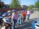 Fahrrad -Training -Tunier -Prüfung