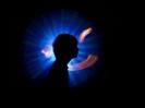 Lichtkunst - Portraits - Uli Haller mit der 3a
