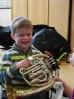 Jeki 1c mit Horn und Trompete