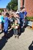 Einschulung 2016 - Auf dem Schulhof