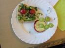 Gesundes Frühstück der Klasse 2b